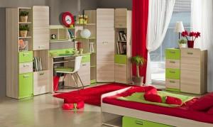 Vaikų kambario spintos